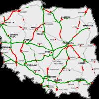 Il sera bientôt possible d'acheter la vignette autoroutière polonaise grâce à une application, et éviter les longues files d'attente