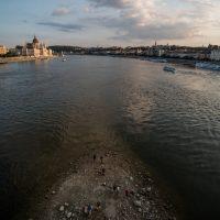 Le niveau du Danube dans la région de Budapest est dangereusement bas