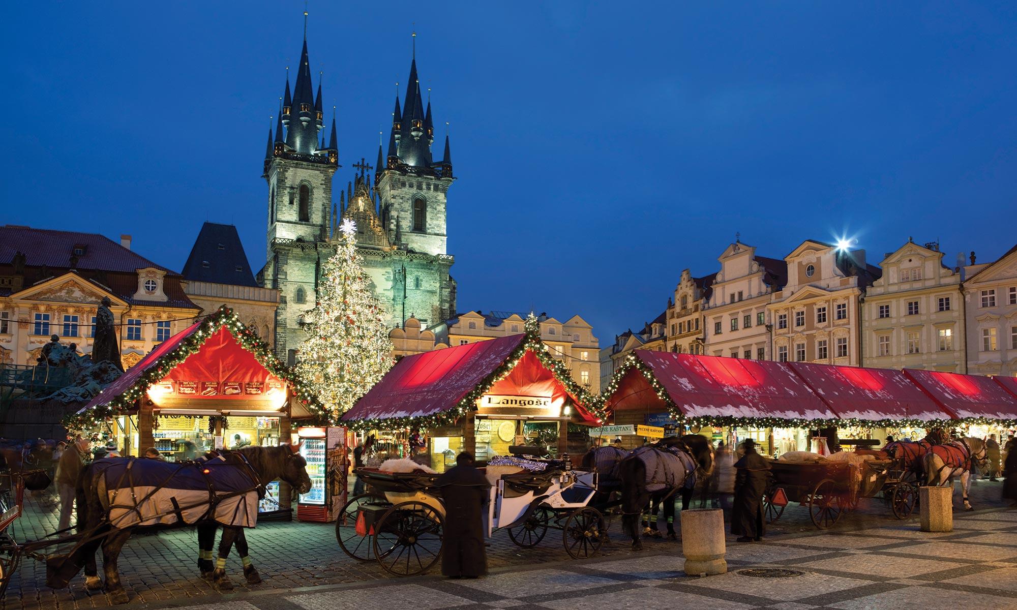 La magie du Noël tchèque : Prague, Brno, Olomouc et Český Krumlov